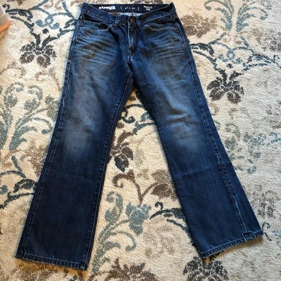 90f5142bba0 Express Jeans | Rocco Slim Fit Bootcut 30x30 | Poshmark